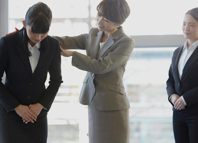 社員全員が安心して仕事に取り組めるように